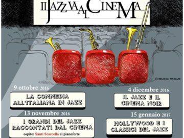 locandina IL JAZZ VA AL CINEMA